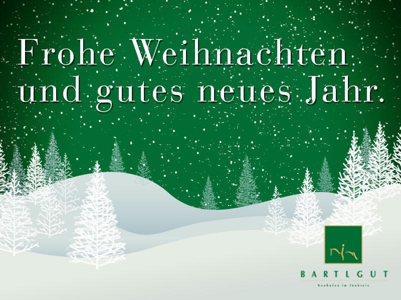 Frohe Weihnachten Guten Rutsch Ins Neue Jahr.Bartlgut Frohe Weihnachten Und Einen Guten Rutsch Ins Neue Jahr